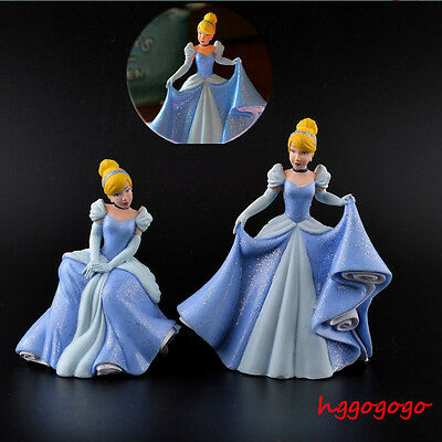 Hot Princess Cinderella Figures Toys Cake Toppers Bullyland Charming Girls Gifts