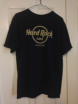 Hard Rock Cafe T Shirt Medium Foxwoods