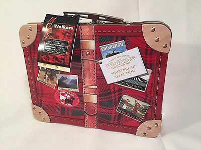 Walkers Shortbread Selection Suitcase TIN ONLY