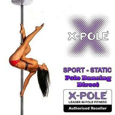 X-Pole Sport Chrome 40mm - 45mm -50mm Professionsal Static Pole & Cleaning Cloth