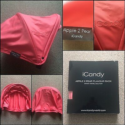 Icandy Apple 2 Pear Flavour Pack * Hood * Bnwdp New Bargain Low Start