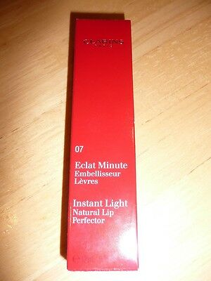 Clarins Instant Light Natural Lip Perfector 12ml brand new & unused RRP £18