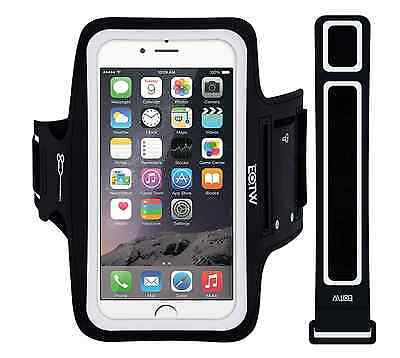 "New Fitness Exercise Running Armband for Smartphones 4.7"" iPhone 6/6s BLACK"