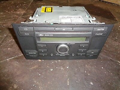 Ford Mondeo 6000Cd Cd Player With Code