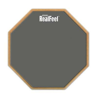 """Evans Real Feel RF12D 12"""" Double Sided Drum Practice Pad"""