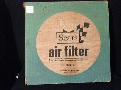 Vintage Sears Automotive Car Air Filter #45276 Classic Car Hot Rod Nib