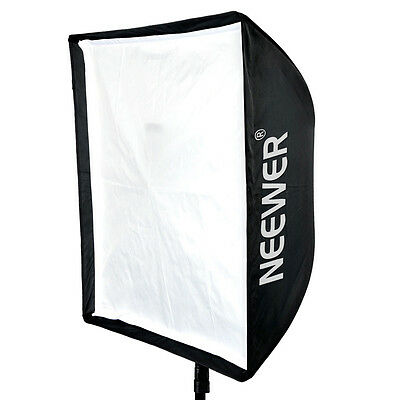 "Neewer 24'' x 24"" Portable Studio Flash Speedlite Umbrella Softbox Reflector USA"