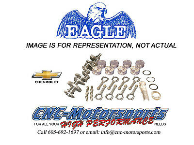 Sb Chevy 383 Rotating Assembly Mahle 10.5:1 Pistons Eagle 5.7 Rods 10008