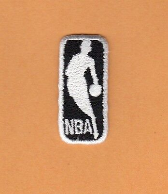 """Nba Basketball Logo Patch Unused Old Stock Small 1 1/2"""" Hat Polo Shirt Baby Item"""