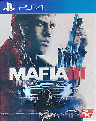 Mafia 3 III - PS4 Game - Brand New Sealed