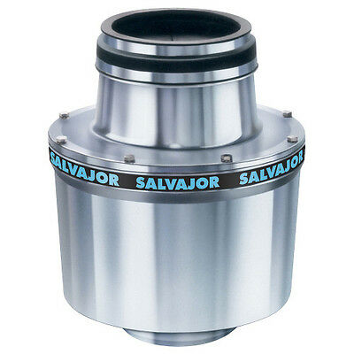 Salvajor 100 Commercial Garbage Disposer with 1 HP Motor