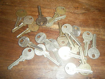 Job lot of old keys - rare