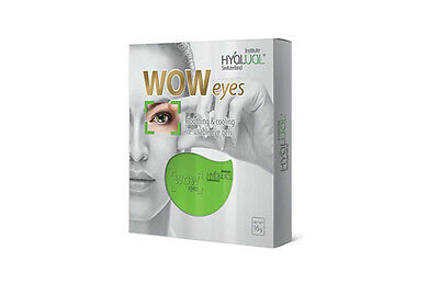 Hyalual WOW eyes Soothing and Cooling Re-Usable Eye Gel Pads