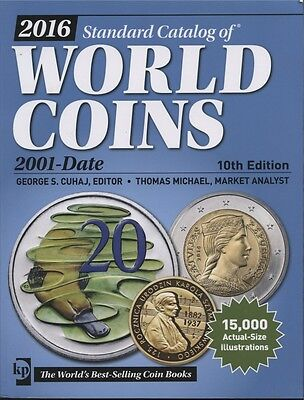 Standard Catalog of World Coins 2001 - Date 2016 10th Edition Used