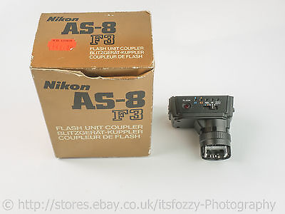 Nikon AS-8 Flash Unit Coupler For Nikon F3