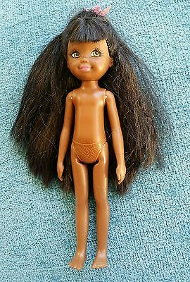 Barbie Doll Sister So In Style nude Janessa African American Chelsea Rare