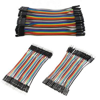 120pcs Dupont Wire Male to Male Male to Female Female to Female Jumper CableBBUS