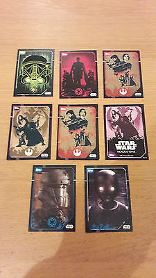 Pick 1 Topps Rogue One Trading Sticker Card - Star Wars
