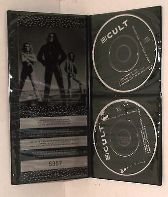"""The Cult Mini Cd Set Fire Woman/ Edie 3"""" Inch Single+ Wallet Beg 228 Limited Ed"""