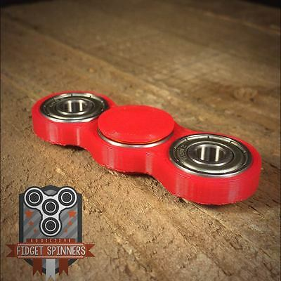 EDC Spinner Dual Bar Fidget Toy with Caps **ships out within 24 hours of order b