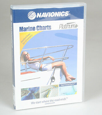 Navionics Platinum+ Plus Central & South Florida On CF