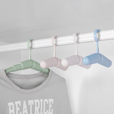 Travel Home Required Portable Folding Clothes Hangers Easy to Carry can Adjust