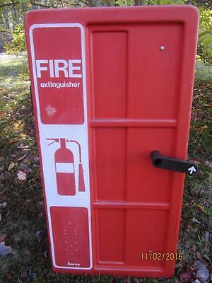 Encon Fire Extinguisher Wall Case Safety Equipment Protection Home Business