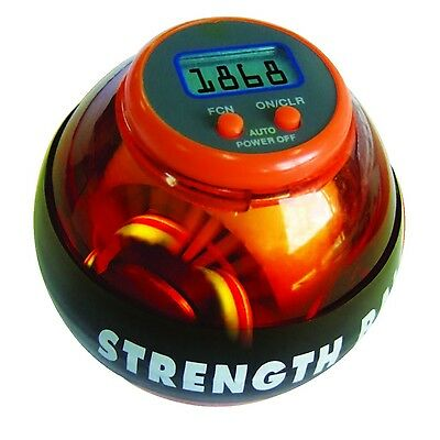 Science Museum Strength Gyroscopic Exercise Ball Rev Counter Golf Trainer