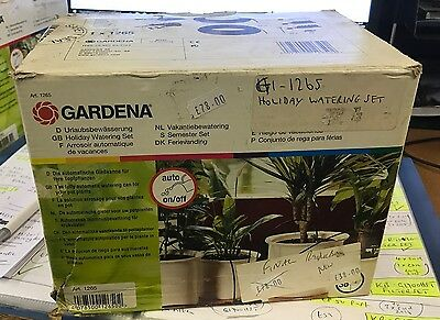 Gardena Holiday Plant Watering Set - In & Outdoor Use Waters For 1 Minute Daily