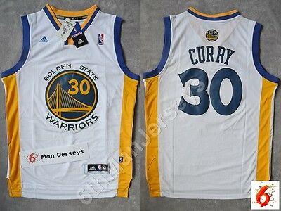 NBA Stephen Curry #30 Golden State Warriors white swingman jersey - size S/M/L