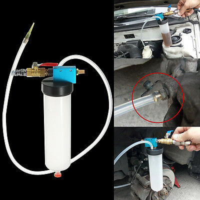 Coche Brake Fluid Reemplazo Tool Pump Oil Drained Tools Bleeder Empty Exchange