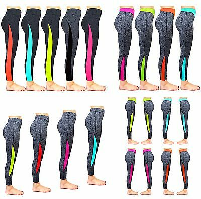 Celmia Women Fitness Yoga Running Gym Lady Exercise Sports Leggings Pant Trouser