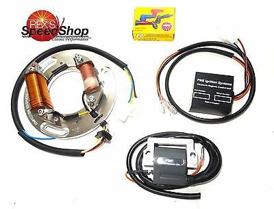 "XT500 Electronic Ignition -""12 Volt Field & Tarmac"" Plug in conversion kit"