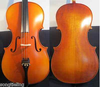 Strad style SONG Brand Solid wood 3/4 cello,huge and powerful sound #11456