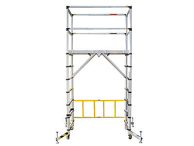 Zarges Telescopic Mobile Scaffold Tower - XMS16TOWER