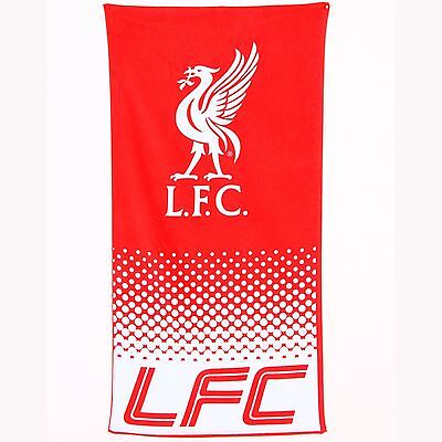 Liverpool Fc Fade Beach & Bath Towel New & Official