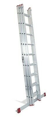 Lyte Domestic Ladder Triple Section Extension DIY Ladders Home DIY Ladder