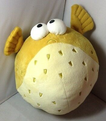 Large Finding Nemo Character Bloat Soft Toy Plush Disney Store
