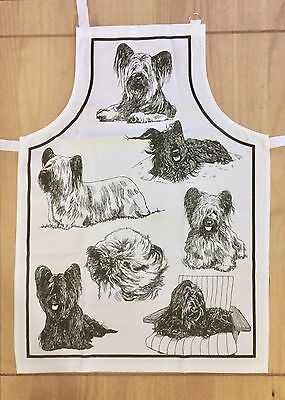 Limited Edition Skye Terrier Apron