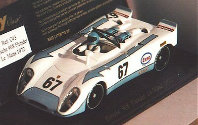 Fly C43 Porsche 908 1972 Le Mans New