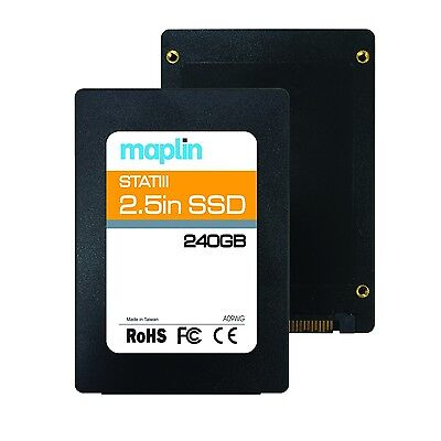 Phison 240GB 2.5-Inch SATA III SSD 540MB/s Internal Solid State Drive Storage