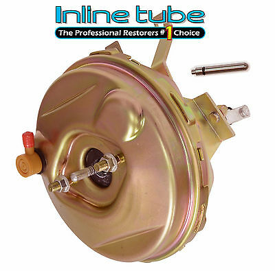 "1964-67 Chevrolet Chevy Corvette 9"" Zinc Power Brake Booster Assembly Unit NEW"