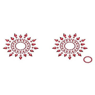 Petits Joujoux - Gloria Red rot Nippel Cover Schmuck |58