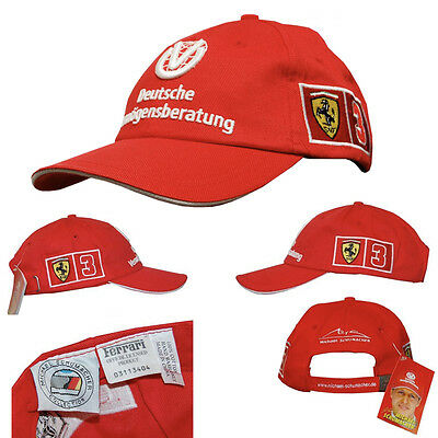 CAPPELLINO MICHAEL SCHUMACHER COLLECTION - Licenza Ufficiale FERRARI
