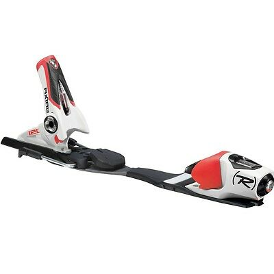 Rossignol Axial3 120 Rockerflex White/Red 80mm Ski Bindings