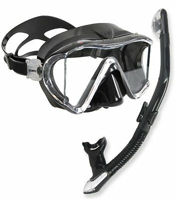 Head by Mares Scuba Diving Snorkeling Purge Mask Dry Snorkel Set