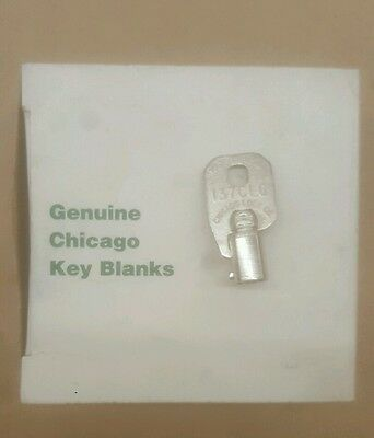 CHICAGO LOCK CO 137CLC - MADE IN USA - D 137 CLC - COMPX - Circular Key Blank