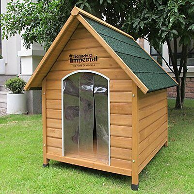 Kennels Imperial Medium Wooden Sussex Dog Kennel With Removable Floor For Easy B