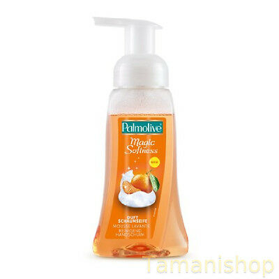 3 x 250ml Palmolive Schaum-Handseife Magic Softness Mandarine