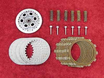 OEM CLUTCH PLATE KIT w/Springs *MINT! 06-16 YZF-R6 R6R friction/steel plates